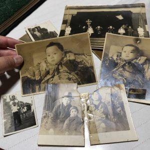古い写真をリメイク